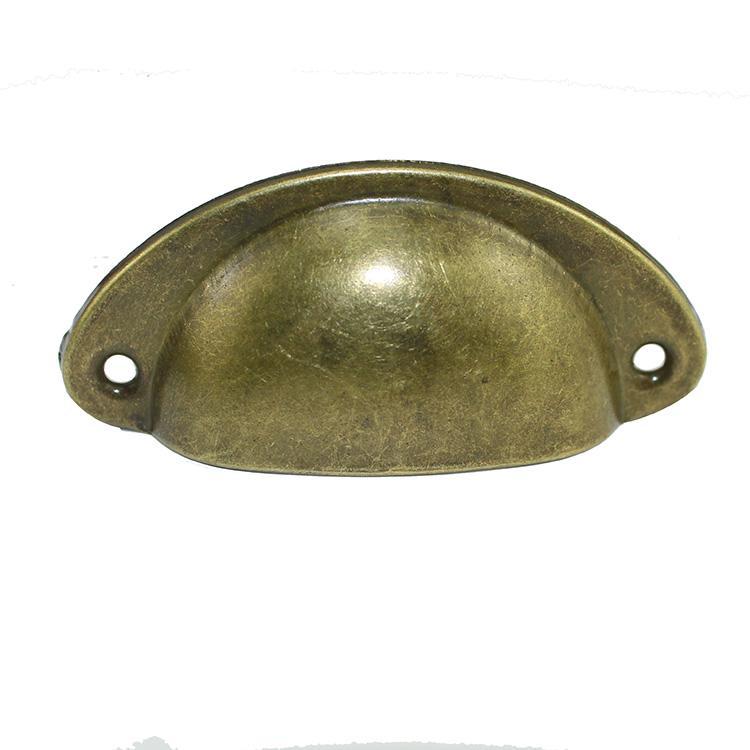 1 шт. ретро металл для ящика кухонного шкафа дверные ручки мебельные ручки, фурнитура антикварный шкаф Железный корпус ручки - Цвет: Yellow Bronze