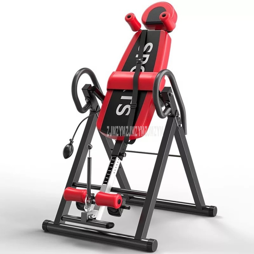 Household Adjustable Handstand Machine Safer Steel Tube Body Fitness Building Pro-Circle Chin Up Gravity Body Inversion Machine