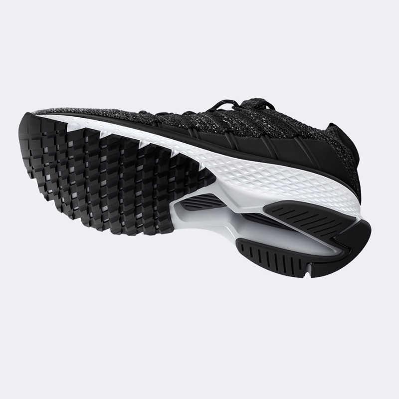 2020 xiaomi mijiaスポーツスニーカー靴 2 ユニ成形techiniqueフィッシュボーンロックシステム弾性ニットバンプ衝撃吸収唯一