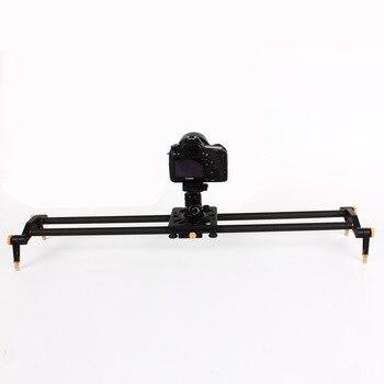 60cm/80cm/100cm/120cm 6 Bearing Carbon DSLR Camera DV Slider Track Rail Video Stabilizer Slide for Photography Studio Camcorder