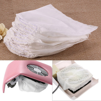 10Pcs Nail Dust Collector Bag Non-woven Replacement Bags Vacuum Cleaner Bag Fan Vacuum Cleaner Manicure Bag Nail Accessories brand new practical vacuum cleaner bag 11x10cm non woven bags hepa filter dust bags cleaner bags for cleaner clean accessories