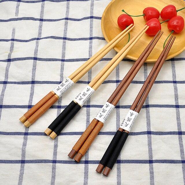 supporto bacchette in legno poggia bacchette di legno artigianale creativo riutilizzabile antiaderente poggia bacchette di legno per cucina Bacchette Holder