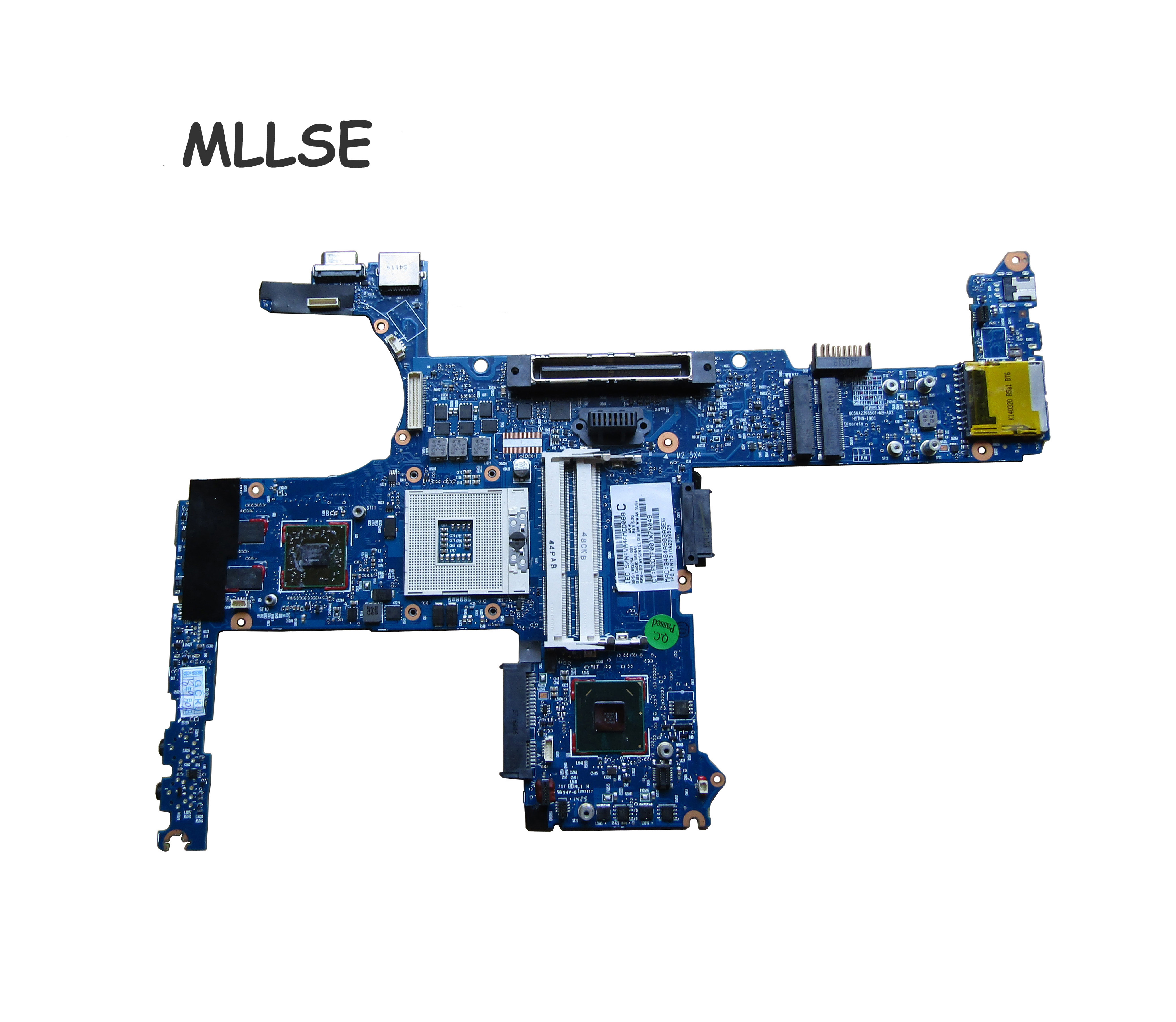 642754-001 board for <font><b>HP</b></font> <font><b>8460p</b></font> laptop <font><b>motherboard</b></font> with intel QM67 chipset 1GB discrete graphics image