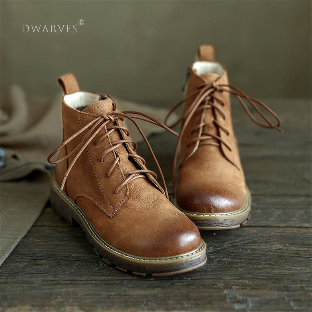 Botas Martin de mujer de cuero con cordones Oxfords punta redonda Tpr suela de gamuza botines de tobillo marrón Zapatillas de piel de cuero vacuno para hombre, mocasines, zapatos a la moda, calzado para conducir para hombre, zapato suave, mocasín para hombre