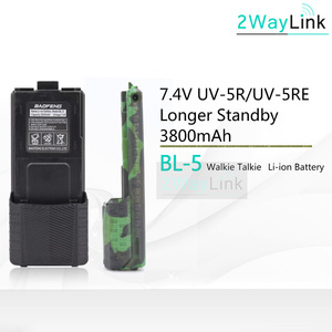 Hot BL-5 Battery 3800mah Baofeng uv-5r Battery For DM-5R Plus UV 5R uv5r UV-5RE 5RE Compatible with RT-5R RT5R 1800mAh Optional
