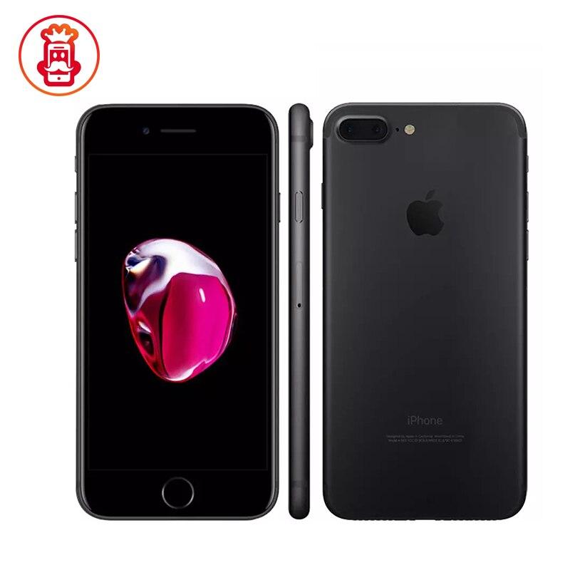 Unlocked Original Apple iPhone 7 plus 2GB RAM 128GB ROM phone IOS10 LTE 12MP Camera Quad-Core Fingerprint Used Mobile phone