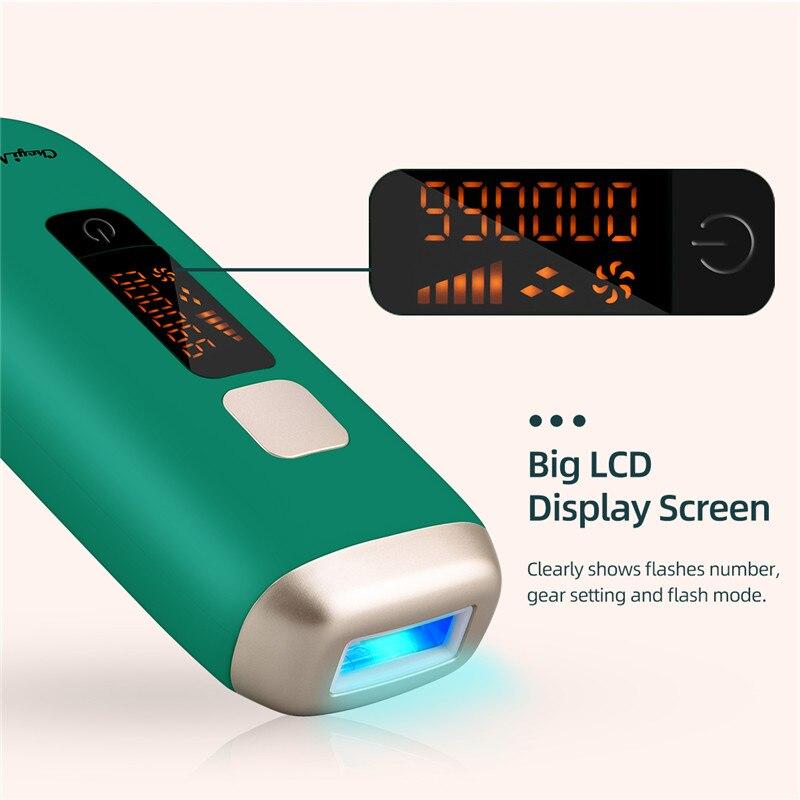 Ckeyin 990000 ipl depilação a laser depilador