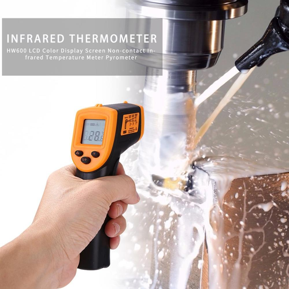 Infrared Thermometer Non Contact Infrared Thermometer Temperature Pyrometer IR Laser Point Gun -50~380 Degree