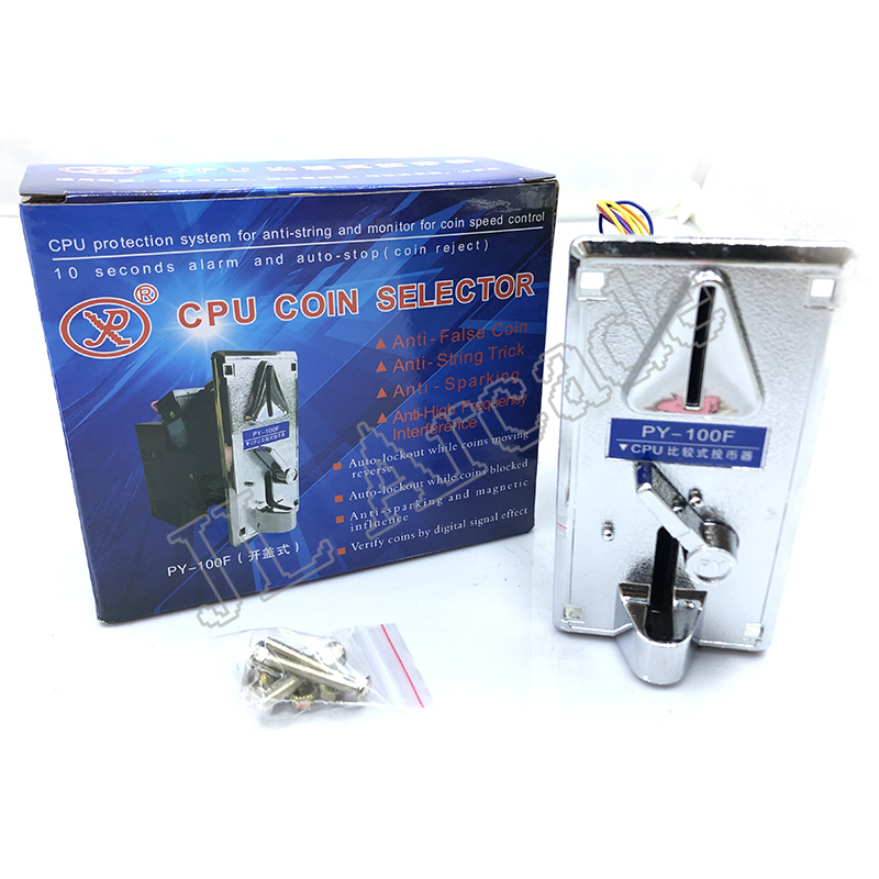 High Quality Plastic Electronic Coin Acceptor CPU Comparison Multi Coin Selector Mechanism Accepter Jamma Arcade Games Parts