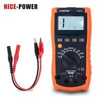 Neueste Digital Professional Tasche Induktivität Meter Kontinuität Test Mit Tester Sonden Für Multimeter Mit Stand WP-A623