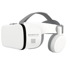 "BOBO VR Z6 Bluetooth 3D Glasses Virtual Reality Box Google Cardboard Stereo Mic Headset Helmet for 4.7 6.5"" Smartphone+Joystick"
