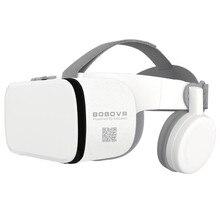 """BOBO VR Z6 Bluetooth 3D lunettes boîte de réalité virtuelle Google carton stéréo micro casque casque pour 4.7 6.5 """"Smartphone + Joystick"""