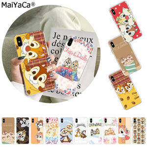 MaiYaCa Cute cartoon squirrel Chip 'n' Dale Phone Cover for iphone SE 2020 11 pro 8 7 66S Plus X XS MAX 55S SE XR Cover(China)