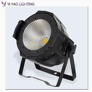 100 Вт COB Светодиодный точечный светильник DMX для театра теплый белый и холодный белый DMX512 светодиодный светильник для сцены светодиодный про...
