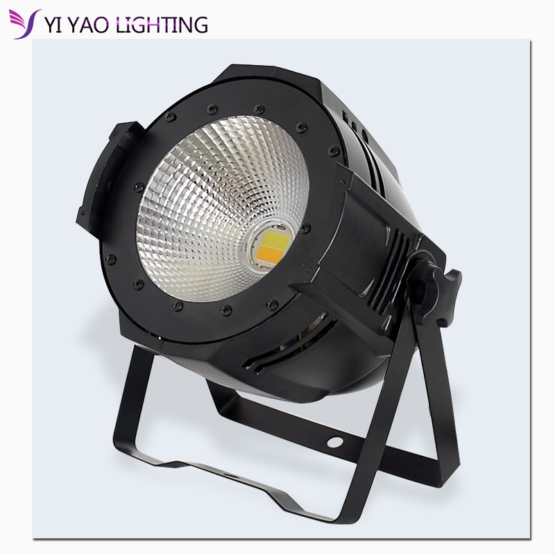 100W COB LED PAR DMX Theater Spotlight Warm White And Cool White DMX512 LED Stage Lighting Projector Led Par 100w COB Light