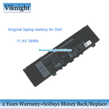 Genuine-Li-Ion-Battery VOSTRO Dell Inspiron for 13/7000/F62g0/.. Black 3166mah/38wh Laptop