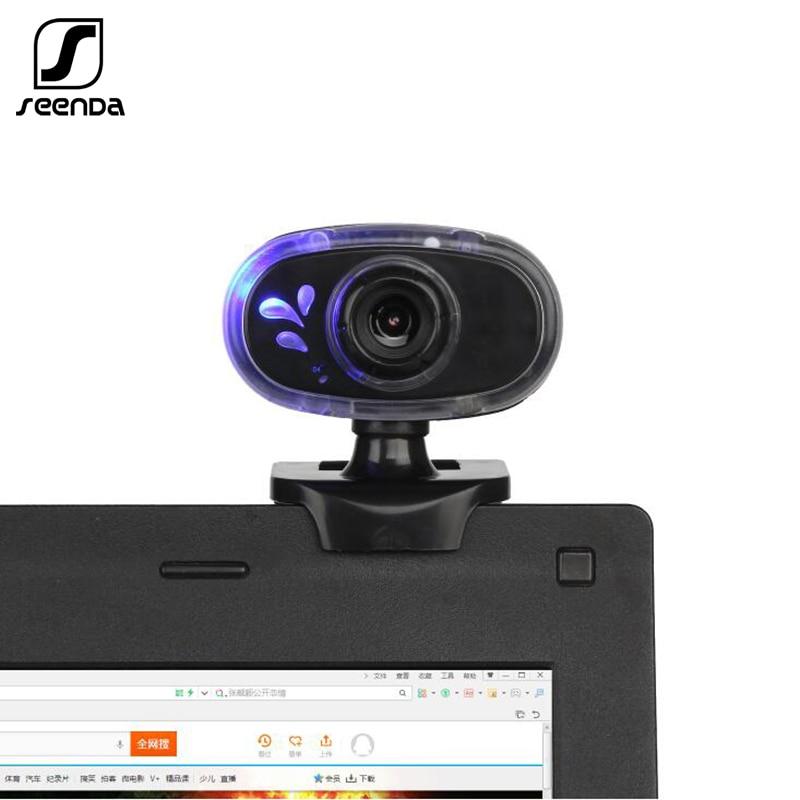 SeenDa USB Webcam Camera  CMOS Sensor 4 K HD Video Recording Web Camera With Microphone For Work And Study