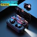 Arlado 5 0 беспроводные Bluetooth наушники JS18 водонепроницаемые шумоподавляющие наушники 3D стерео спортивные Игровые наушники для IOS Android