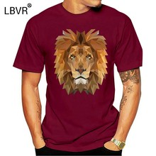 Lion Portrait King Of The Savannah Cat Africa Safari Animal Unisex T-Shirt Shirt Birthday Gift Tee Shirt(China)