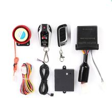 12V Two Way Motorcycle Alarm Anti-theft Security System With Microwave Sensor
