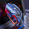 YINDIAO Wired Gaming Mouse 6 Programmable Button 3200 DPI USB Computer Laptop Gamer Mice With RGB Backlight For PUBG LOL Mouse