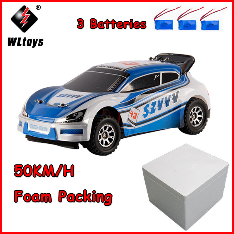 Original 50km h A949 Upgraded Wltoys RC High Speed Racing Car 4WD 2 4GHz Drift Toys Car 1 18 High Speed Electronic Cars in RC Cars from Toys Hobbies