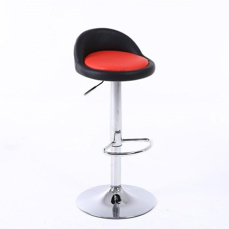 Bar Chair Lift Rotating Bar  Nordic Style Cash Register High Stool Modern Minimalist Home Iron Foot