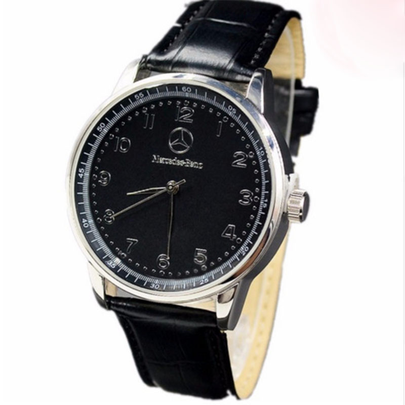 New Style Mercedes Belt Watch Men Korean-style Fashion Business Casual Leather Belt Bens
