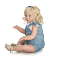 Reborn Toddler Model Rebirth a Year of Age Doll GIRL'S Toy Collection Gift Cute
