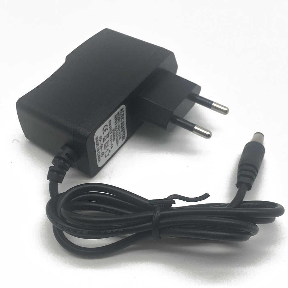 Ue wtyczka AC 100-240V do DC 12V 1A 2A 3A 12W 24W 36W zasilanie przewód adapterowy do taśmy LED światła/ze złączem