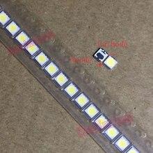 500 шт./лот LG Innotek SMD светодиодный 3528 2835 3V 100LM 1 Вт, холодный белый свет для ТВ/ЖК-дисплей Применение Подсветка