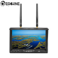 Eachine LCD5802D 5802 5.8G 40CH 7 Inch FPV Monitor with DVR Build in Battery For FPV Multicopter RC Drone Airplane Long Range