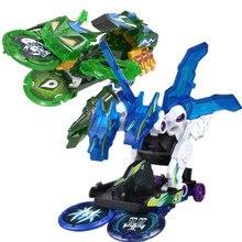 Screechers explosão selvagem flips transformação adesivos robô carro anime figuras de ação caçador captura chip wafer meninos crianças menina brinquedos