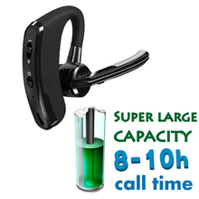 VSIDE-V8 Business Bluetooth Headset Wireless Handsfree Office Earphones Headphones With Mic Voice Control for Driving Work