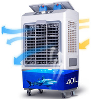 220В передвижной охладитель воздуха Охлаждающий только мини Кондиционер Вентилятор для промышленного/коммерческого/домашнего использован...