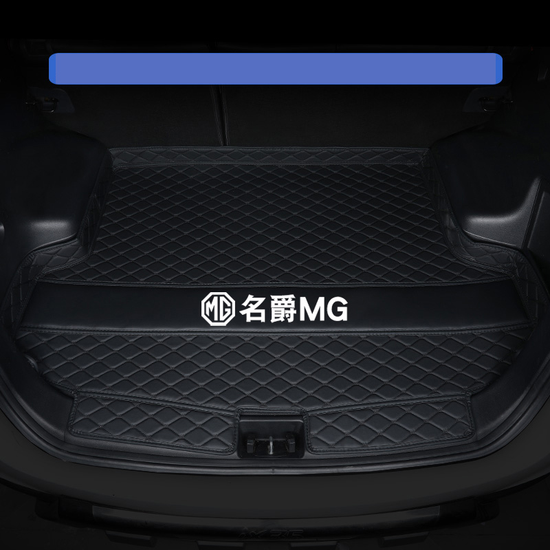 Lsrtw2017 Leather Car Trunk Mat Cargo Liner For Mg Zs Mg3 Mg6 Mg 2013 2014 2015 2016 2017 2018 2019 2020 Interior Accessories