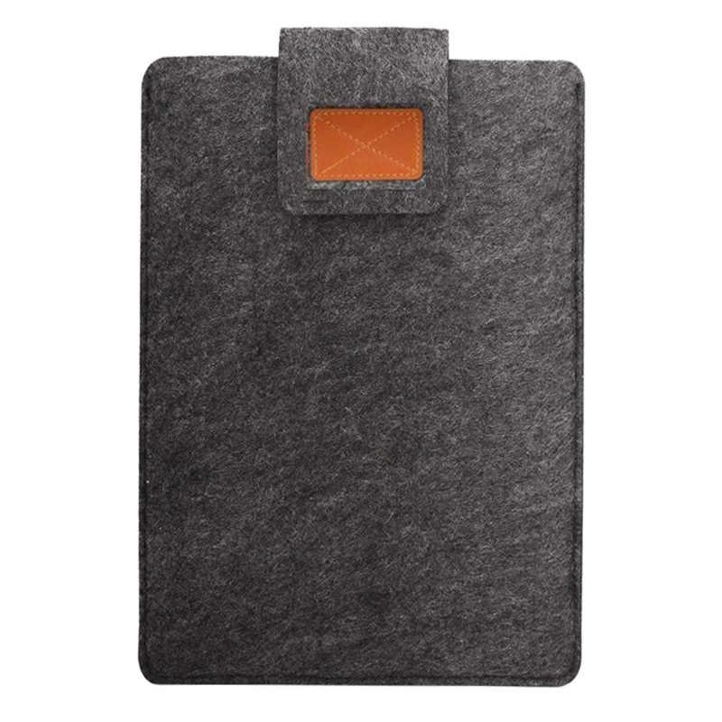 フェルトカバーの Macbook Air Pro の網膜 11 12 13 15 ラップトップバッグ 9.7 17 インチノートブックデルサムスンソニー