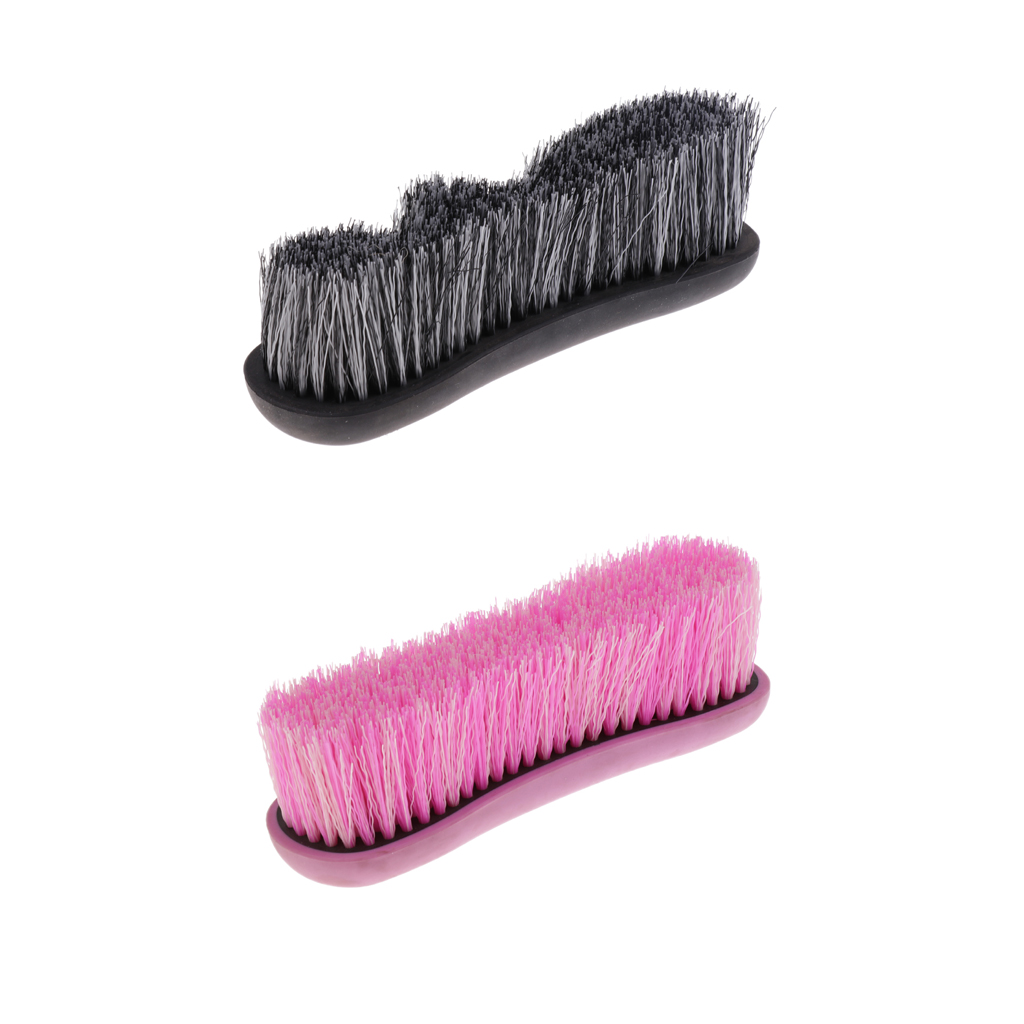 Horse Pony Finishing Brush Mane And Tail Comb Equestrian Grooming Equipment