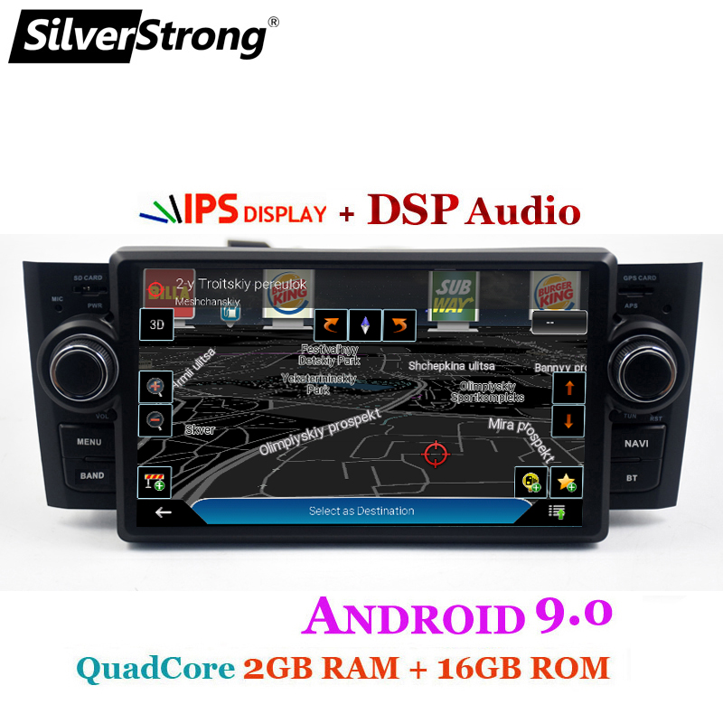 Car Multimedia player GPS Android 9.0 Car Radio 1 Din DVD Automotivo For Fiat Grande Punto Linea 2007-2012 Radio FM DSP bt wifi ips (7)