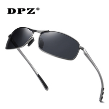 DPZ Aluminum Magnesium leg Men's Sunglasses Driving Men Polarized Coating Glasse