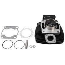 Cylinder Jug Barrel Kit 66mm Bore for YAMAHA DT 175 DT175 Replacement