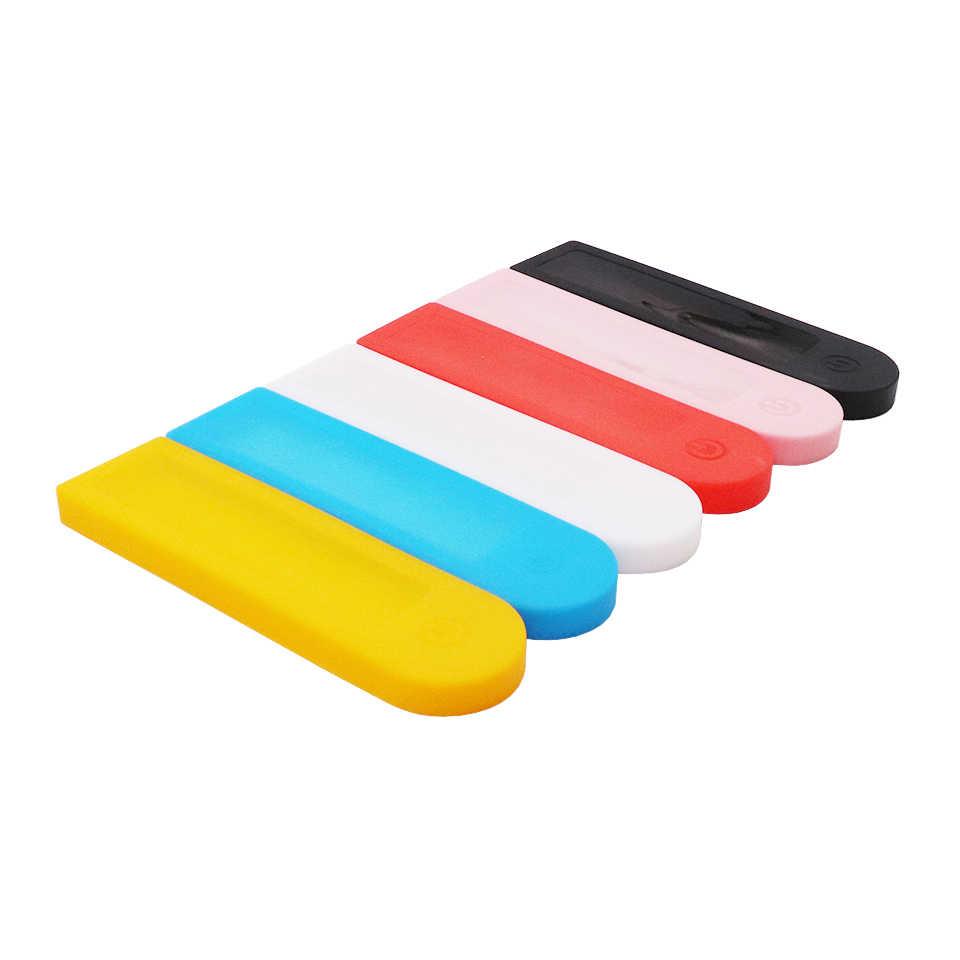 シリカゲル保護カバーダッシュボードシリコーンケース防水 Xiaomi Mijia M365 プロ電動スクータースケートボードアクセサリー