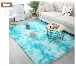 Dywaniki do salonu fluffy Shaggy Super miękki dywan nadaje się jako dywan do sypialni Home Decor dywaniki dziecięce w Dywan od Dom i ogród na