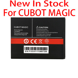 100% Original MAGIC 2600mAh For CUBOT MAGIC In Stock High Quality Battery+Tracking number