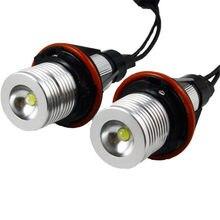 12V 6ВТ E39 светодиодный Ангельские глазки маркер фары для BMW E39 X5 E53 E60 E61 E63 E64 E65 E66 E87 BMW Ангельские глазки лампы