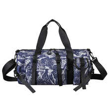 Men Camouflage Sport Bag Gym Travel Handbag Waterproof Hand Duffel Women For Fitness Oxford Training