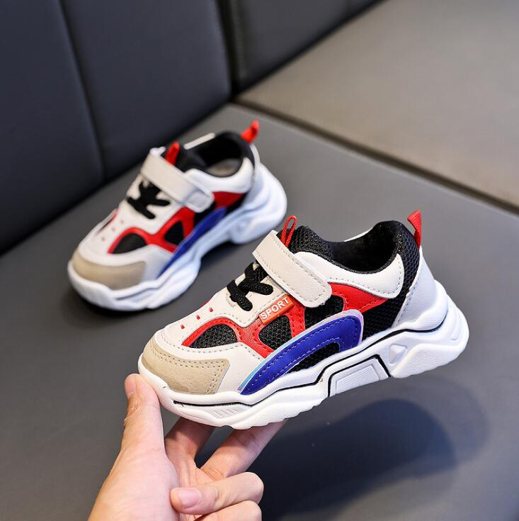 2020 Spring Autumn Baby Sports Shoes For Boys Girls Toddler Infant Kid Baby Mesh Sneakers Children Soft Sole Running Shoes title=
