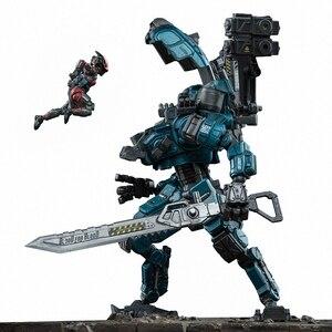 Image 4 - 5 styles JOYTOY 1/25  GOD OF WAR 86  Mecha  Robot Action Figure model Toys Gift For Kids  (2pcs/set)