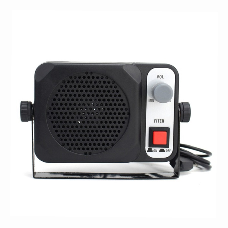 TS-650 Mini External Speaker Ts650 For Yaesu Kenwood ICOM Motorola Ham Radio CB Hf Transceiver Car Walkie Talkie