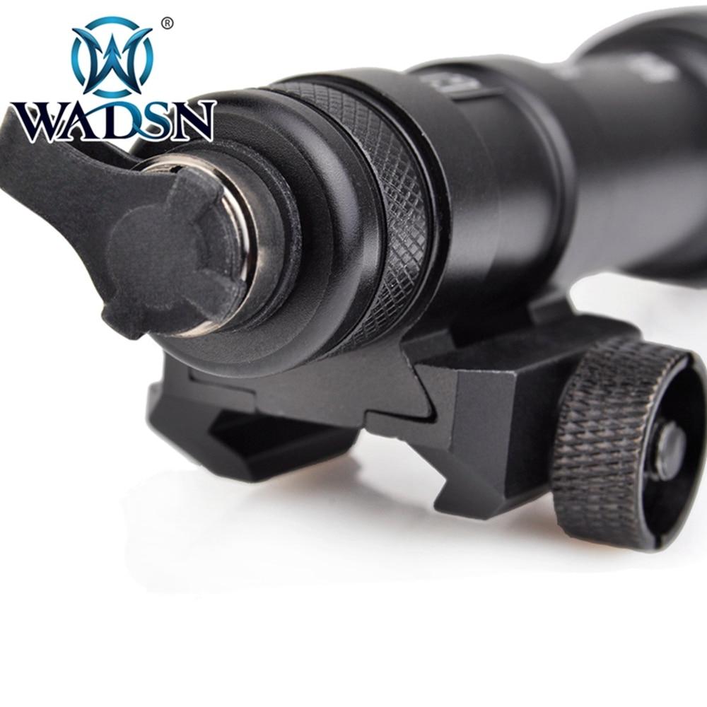 Wadsn softair scout luz tático m600c lanterna